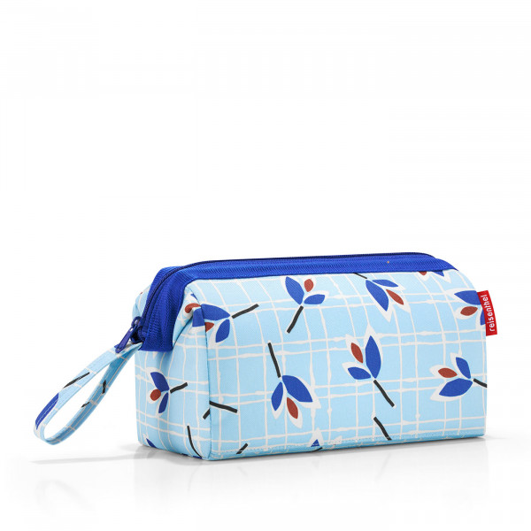 travelcosmetic leaves blue