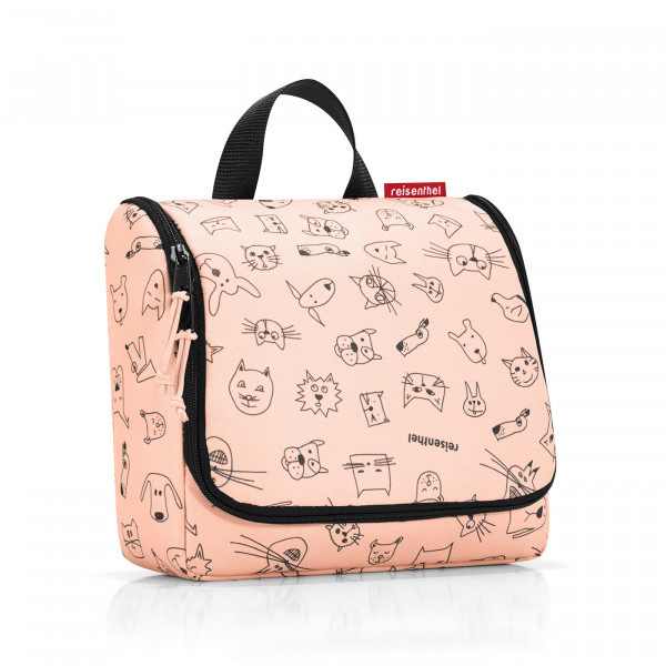 toiletbag kids cats and dogs rose